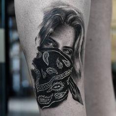 Payasa Tattoo, Faded Tattoo, Tattoo Care, New Tattoos, Girl Tattoos, Thug Girl, Gangsta Girl, Urban Street Style, Tattoo Artists