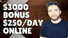 $3000 Upfront $250/Day Work-From-Home Jobs Little/No Experience 2021 Work From Home Careers, Day Work