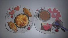Entrée et dessert St Valentin