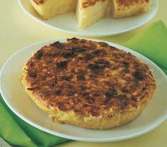 Torta di patate gialle al taleggio e parmigiano