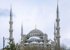 Snow-Covered Architecture Around the World Photos   Architectural Digest - THE BLUE MOSQUE, ISTANBUL, TURKEY (=)