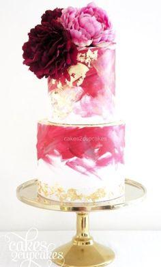 Wedding cake idea; W