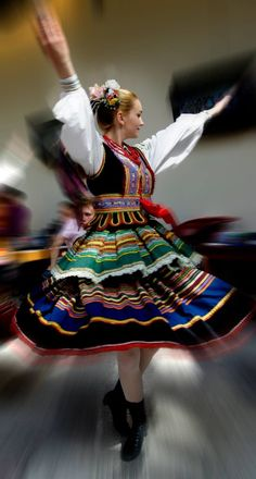 boho traditional polish costume ethnic maxi skirt long skirt Polish folk highlander maxi skirt ukrainian style slavic russian