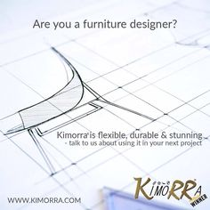 Kimorra® fabric veneers are flexible and durable in a range of stunning patterns making them ideal to incorporate into your furniture… Pattern Making, Manchester, Bespoke, Flexibility, Cabinets, Furniture Design, Tables, Chairs, Range