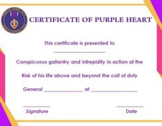 Blank Certificates Templates Free Download Inspiration Purple Certificate Template Free Downloads  Purple Certificate .