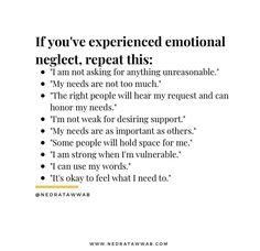 Emotional Awareness, Mental Health Awareness, Mental And Emotional Health, Emotional Healing, Healing Words, Self Healing, Cool Words, Wise Words, Life Advice