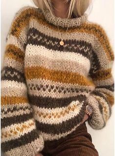 Knitting Kits, Free Knitting, Knitting Sweaters, Chunky Knit Sweaters, Knitting Machine, Vintage Knitting, Mohair Sweater, Chunky Sweater Outfit, Knitting Ideas