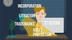 Lawyer Corporate Animated