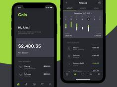 Coin App designed by Yuriy Degtyar for Star Design. Mobile Ui Design, App Ui Design, User Interface Design, Coin App, Dashboard App, Free Followers On Instagram, Design Thinking Process, Budget App, Coloring Apps