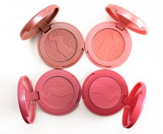 Tarte Sculpted Cheeks Amazonian Clay Blush Set & Brush Review, Photos, Swatches