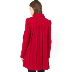 Manteau forme trapèze Mademoiselle R MADEMOISELLE R | La Redoute Mobile