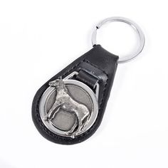 This Leather Keyring with Pewter Horse will make the perfect gift for any experienced or novice equestrian. The keyring is made from. Equestrian Gifts, Leather Keyring, Pewter, Horses, Personalized Items, Tin, Horse