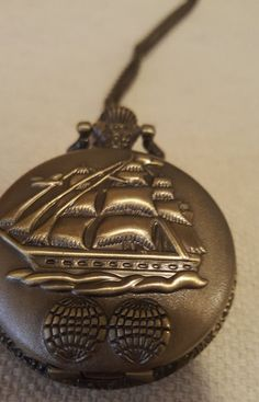 Vintage Nautical Pocket Watch by NeeNeeWorld on Etsy