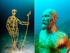 Underwater Museum at Cape Tarkhankut Ukraine