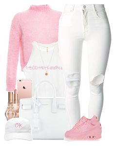 """Pretty Pink"" by oh-aurora ❤ liked on Polyvore featuring moda, Filles à papa, Yves Saint Laurent, Charlotte Tilbury, Michael Kors, ASOS, Marc by Marc Jacobs, Forever 21, (+) PEOPLE ve NIKE"
