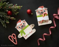 Pug Christmas, Christmas Treats, Holiday Parties, Holiday Gifts, Pug Breed, Bubble Wands, Candy Cane, Pugs, Classroom