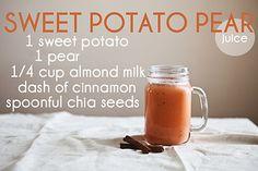 Sweet Potato Pear Juice