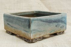 Handmade pots for bonsai trees for sale by swedish bonsai pot maker Thor Holvila.