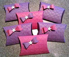Pillow Box mit Schleife