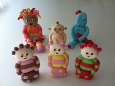 In the night garden cake toppers: