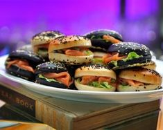 Mini Burgers, Nutrition, Entrees, Creme, Sushi, Sandwiches, Cooking, Ethnic Recipes, Bikini