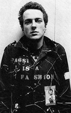 Joe Strummer, musician. The jacket says it all.