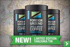 strong, aromatic single origin coffee from Tanzania in a superb new limited edition Tanzanian tin. So good to savour after your festive meal. Single Origin, Tanzania, Wine Recipes, Ale, Festive, Strong, Coffee, The Originals, Coffee Cafe