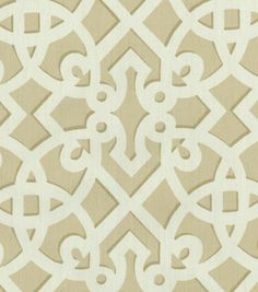 Upholstery Fabric-Williamsburg Francis Fret SandUpholstery Fabric-Williamsburg Francis Fret Sand,