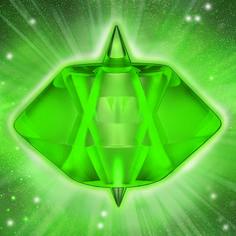 verde esmeralda  para sanar, armonizar y elevar la energía del cuerpo físico
