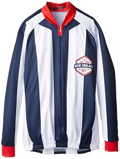 MLS New England Revolution Womens Striped Long Sleeve Vomax Jersey Large      You can find more details by visiting the image link.Note It is  affiliate link ... 861317587