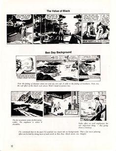 Rhymes With Omni: kurtbusiek: Cartooning advice from Roy Crane.