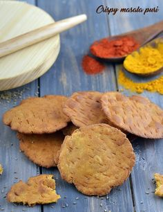 Crispy Masala Puri, Jar Snack, Tea Time