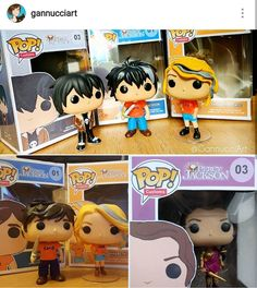 More Percy Jackson pops! This is a collage of some I've made, including: Percy, Annabeth, Nico and Reyna :)    #custom #funko #pop #funkopop #customfunko #percyjackson #annabeth #percyandannabeth #nico #annabethchase #percy #chb #camphalfblood #reyna