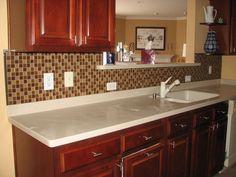 glass tile is becoming popular for kitchen back splash  http://pepetileinstallation.com/