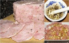 Cold Cuts, Calzone, Charcuterie, Food And Drink, Homemade, Cooking, Blog, Polish Food Recipes, Hams