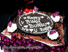 Dapoer Queen: Black Forest for Birthday cake