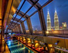 Sky Bar @ TradersHhotel, Kuala Lumpur