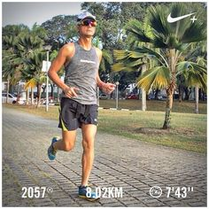 Look! Barry is running  #barryisrunning  #run #runsg #nikeplus #nikerun #nikeplusrun  #runhappy #runnerscommunity #runnerinspiration #runforabettertomorrow  #correr #Corrida #instarunner #iphonerunner #iphoneonly #marathontraining #wearetherunners #coolrun #worlderunners  #loverunning #runninginpain #plantarfasciitis  #RunItFast