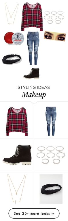 """Teen fashion"" by princessrena on Polyvore featuring Charlotte Russe, H&M, Forever 21, Rosebud Perfume Co. and Full Tilt"