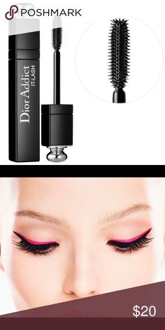 Dior Addict It-Lash Luxury Mascara❤️ PRICE FIRM!!! This sexy, defining and luxurious Mascara by C Dior is highly saught for and worth the hype. :) I use it myself and I love it for date night! You can layer it overtop over and over and not clump! Made with a curling formula to lengthen and define lashes!! BRAND NEW, but without box!  (Box got wet and ruined!) Dior Makeup Mascara