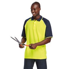 High Visibility Golf Shirts and Neon Golf Shirts South Africa, Cape Town