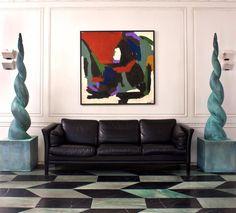 16 Brilliant Living Room Ideas By Kelly Wearstler You Will Love   Modern Sofas. Living Room Inspiration. Leather Sofa. #modernsofas #livingroomideas #leathersofa Read more: http://modernsofas.eu/brilliant-living-room-ideas-kelly-wearstler-love/