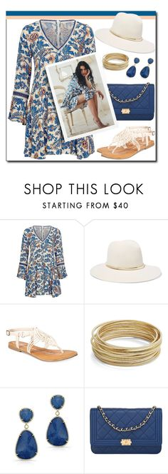 """Untitled #1444"" by gallant81 ❤ liked on Polyvore featuring Janessa Leone, American Rag Cie, Design Lab and Chanel"