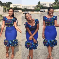 The complete pictures of latest ankara short gown styles of 2018 you've been searching for. These short ankara gown styles of 2018 are beautiful Short Ankara Dresses, Ankara Gown Styles, Short Gowns, Ankara Gowns, African Print Dresses, African Print Fashion, Africa Fashion, African Dress, Ankara Skirt
