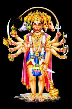 Panchamukha Hanuman Homa is unique as it invokes five forms of Hanuman that represent powerful temples of India. Hanuman Photos, Hanuman Images, Krishna Pictures, Hanuman Jayanthi, Durga, Hanuman Ji Wallpapers, Rama Image, Lord Shiva Family, Hindu Deities