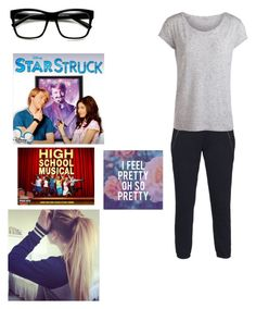 """These Are MY Movies, Bro. Mine."" by its-sarah02 ❤ liked on Polyvore featuring Pam & Gela, Pieces, Retrò, LIZZY, women's clothing, women, female, woman, misses and juniors"