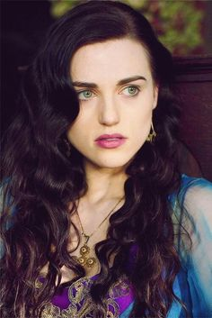 Why is Katie McGrath (Morgana Pendragon) so beautiful?!