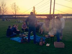 barbecue | grill | duesseldorf | rhein | chilln | team | appom | beer & meat | summer | feeling