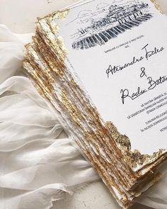 Gold foil wedding invitations / © PAPIRA personalized wedding invitations - Julia Home Black And White Wedding Invitations, Foil Wedding Invitations, Wedding Invitation Wording, Diy Invitations, Wedding Stationary, Invites, Invitation Templates, Wedding Goals, Wedding Planning
