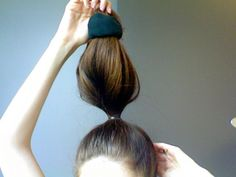 DIY: Sock Bun | Canadian Beauty